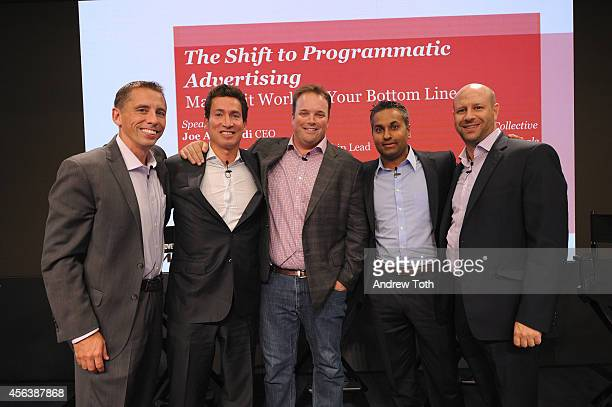 John Swadener Joe Apprendi Rory Capern Tony Patel and Aaron Radin attend The Shift to Programmatic Advertising Making it Work for Your Bottom Line...