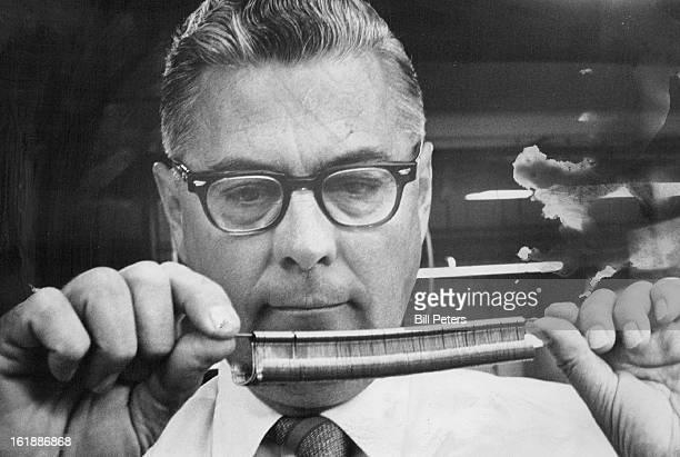 JUN 29 1971 JUL 2 1971 JUL 4 1971 John Sweeney Of Wright McGill Examines Double Hooks