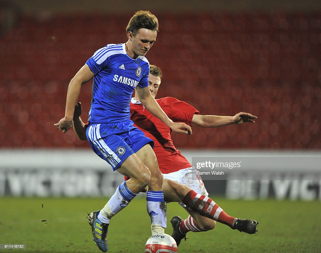 John Swift of Chelsea Youth during a FA Youth Cup 6th Round