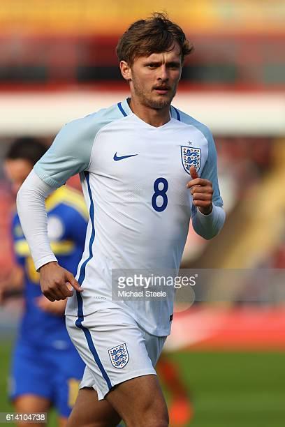 John Swift of England during the UEFA European U21 Championship Group 9 match between England and Bosnia Herzegovina at Banks' Stadium on October 11...
