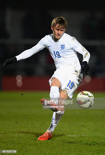John Swift of England in action during the U20 International Friendly match between England and Mexico at The Hive on March 25 2015 in Barnet England