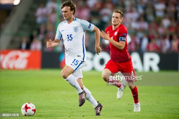 John Swift of England runs with the ball during the UEFA European Under21 Championship 2017 Group A match between England and Poland at Kielce...