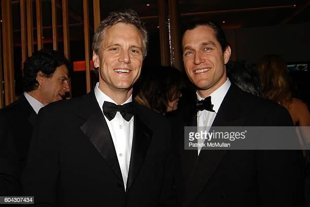 John Sykes and Eric Zinterhofer attend Vanity Fair Oscar Party at Morton's Restaurant on March 5 2006