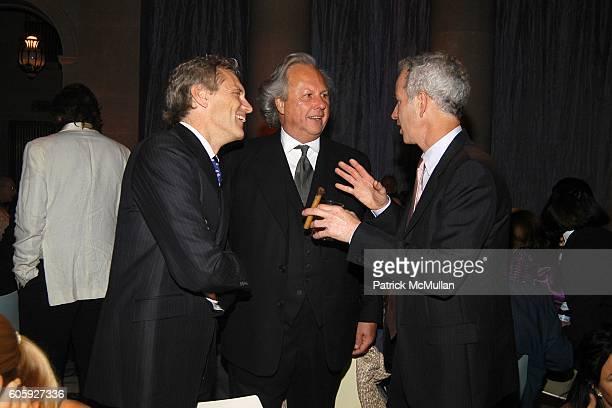 John Sykes Graydon Carter and John McEnroe attend VANITY FAIR Tribeca Film Festival Party hosted by Graydon Carter and Robert DeNiro at The State...
