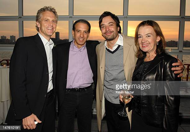 John Sykes Van Toffler President MTV Network Music Group Jimmy Fallon and Judy McGrath Chairman and CEO of MTV Networks