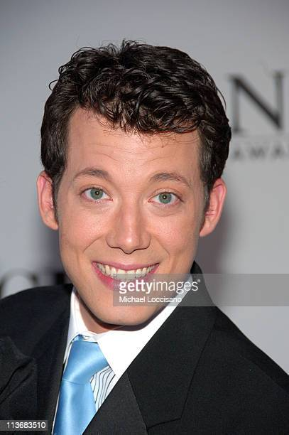John Tartaglia from Avenue Q during 60th Annual Tony Awards Arrivals at Radio City Music Hall in New York City New York United States