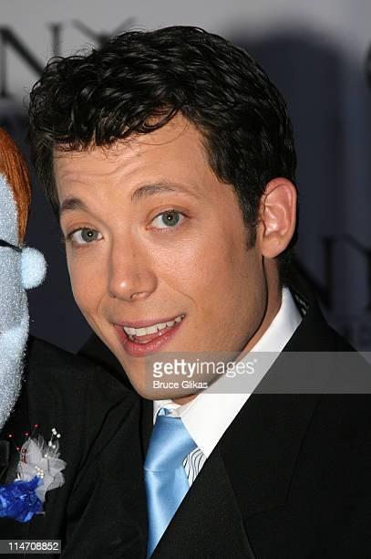 John Tartaglia from Avenue Q presenter for Best Performance by a Featured Actor in a Musical