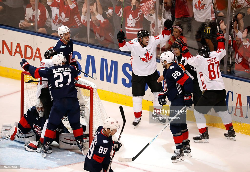 World Cup Of Hockey 2016 - Canada v United States : News Photo