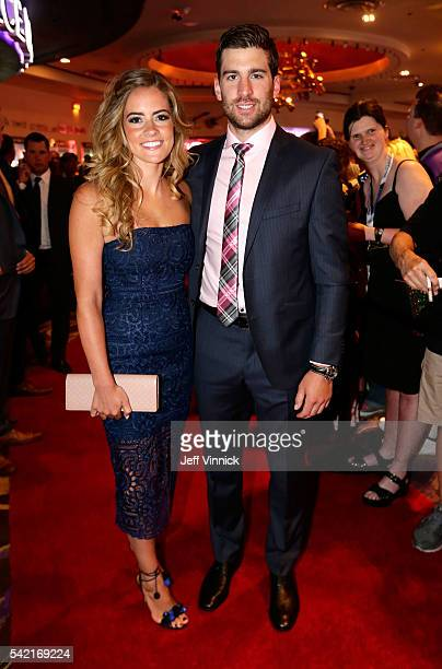 John Tavares of the New York Islanders and guest attend the 2016 NHL Awards at the Hard Rock Hotel Casino on June 22 2016 in Las Vegas Nevada