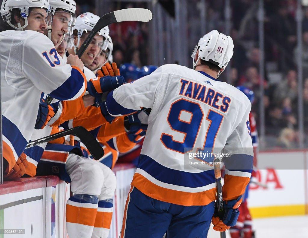 New York Islanders v Montreal Canadiens : News Photo