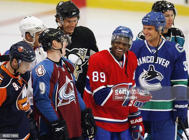 John Tavares of the New York Islanders Matt Duchene of the Colorado Avalanche Eric Tangradi of the Pittsburgh Penguins PK Subban Montreal Canadiens...