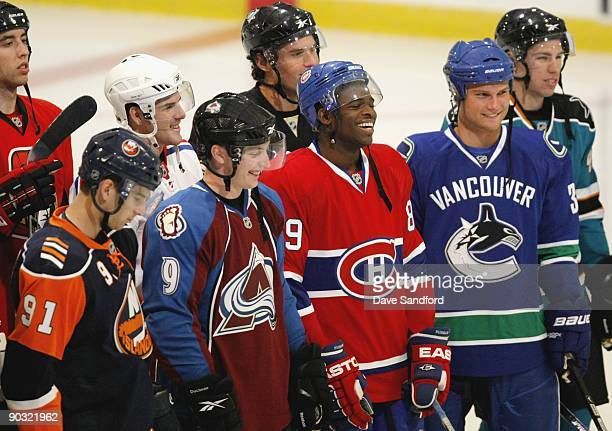 John Tavares of the New York Islanders Matt Duchene of the Colorado Avalanche Bobby Sanguinetti of the New York Rangers PK Subban Montreal Canadiens...