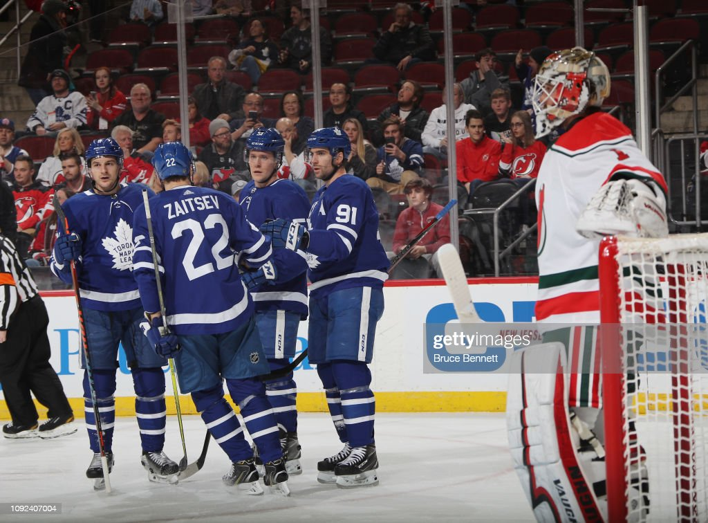 Toronto Maple Leafs v New Jersey Devils : News Photo