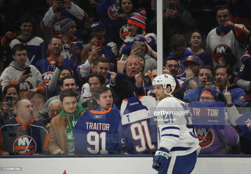 Toronto Maple Leafs v New York Islanders : News Photo