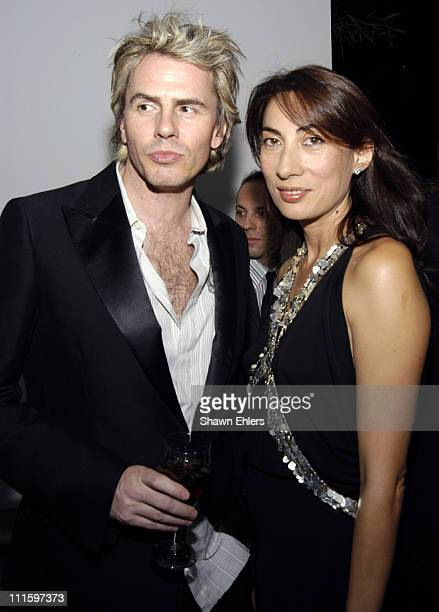 John Taylor and Anh Duong during CFDA Vogue Fashion Fund Dinner at Skylight in New York City New York United States