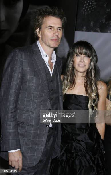 John Taylor and Gela NashTaylor arrive at the Vanity Fair Portraits Photographs 19132008 Exhibit Grand Opening at LACMA on October 21 2008 in Los...