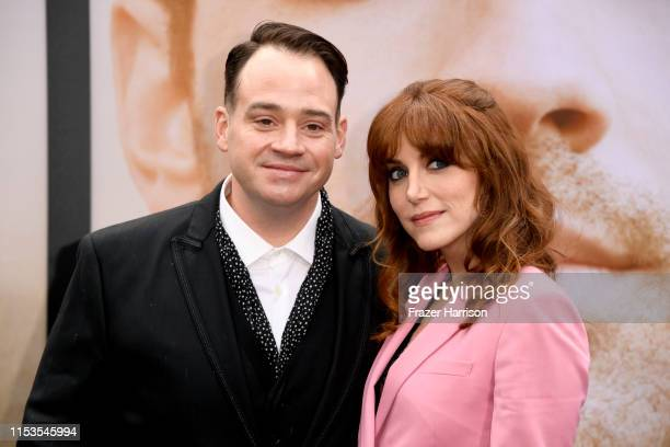 John Taylor and Lola Kelly attend the Premiere of Amazon Prime Video's 'Chasing Happiness' at Regency Bruin Theatre on June 03 2019 in Los Angeles...