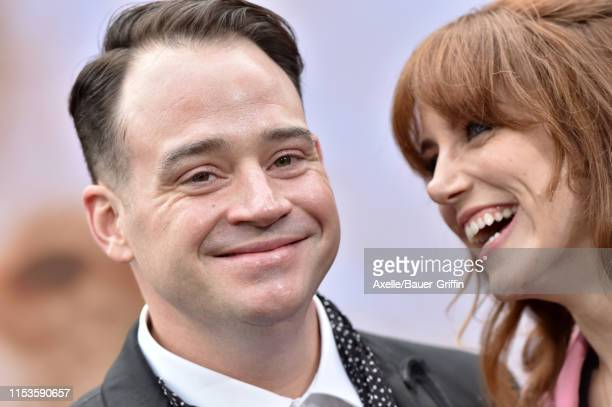 John Taylor and Lola Kelly attend the premiere of Amazon Prime Video's Chasing Happiness at Regency Bruin Theatre on June 03 2019 in Los Angeles...