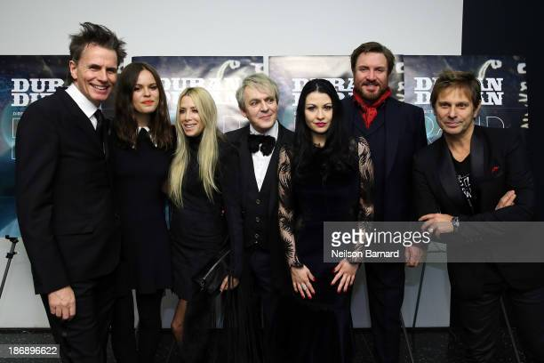 John Taylor Atlanta De Cadenet Taylor Gela Nash TaylorNick Rhodes Nefer Suvio Simon Le Bon and Roger Taylor of Duran Duran attend the Duran Duran...