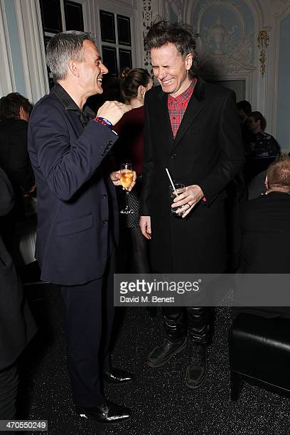 John Taylor is seen at Warner Belvedere Post BRIT Awards Party at The Savoy Hotel on February 19 2014 in London England