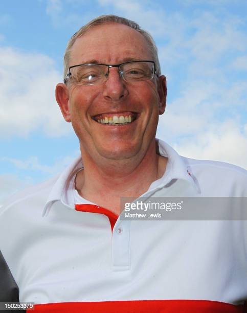 John Taylor of Broadstone Golf Club pictured after winning the Lombard Challenge Regional Qualifier at Woodbury Park Golf Club on August 13 2012 in...