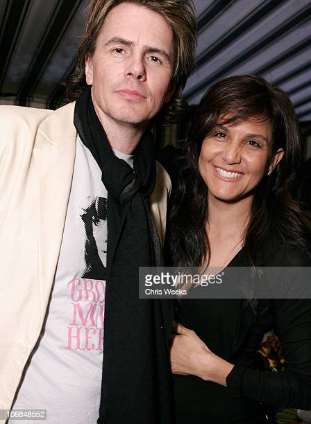 John Taylor of Duran Duran and Laurie Stark of Chrome Hearts