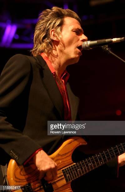 John Taylor of Duran Duran during Duran Duran Live in Concert - April 25, 2004 at NEC Arena in Birmingham, England, Great Britain.