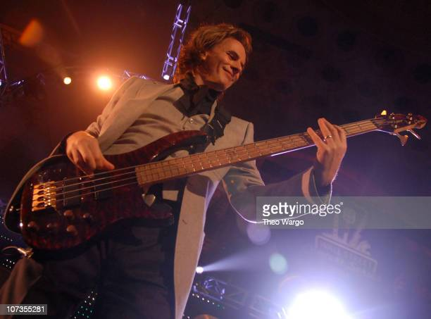 John Taylor of Duran Duran during Duran Duran Perform at the Cipriani/Deutsche Bank Concert Series with amfAR Benefit Auction Hosted by Sharon Stone...