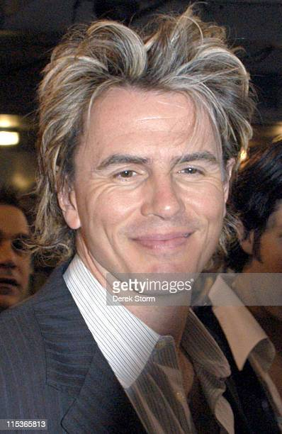 John Taylor of Duran Duran during Duran Duran Promote their New CD 'The Greatest' on WPLJ Radio Station August 11 2004 at WPLJ Studios in New York...