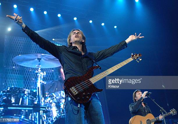 """John Taylor of Duran Duran during The Andre Agassi Charitable Foundation's 10th Annual """"Grand Slam for Children"""" Fundraiser - Show at MGM Grand..."""
