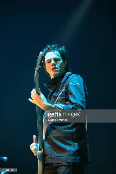 John Taylor of Duran Duran performs live at the Heineken Music Hall on June 19 2008 in Amsterdam Netherlands