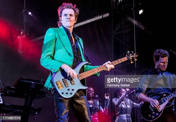 John Taylor of the band Duran Duran performs at 2019 KAABOO Del Mar at Del Mar Race Track on September 15 2019 in Del Mar California