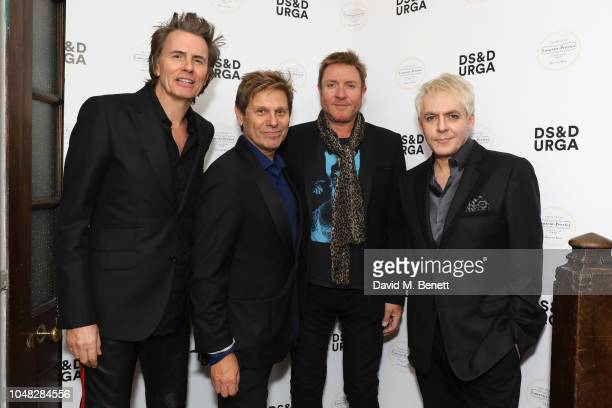 John Taylor Roger Taylor Simon Le Bon and Nick Rhodes of Duran Duran attend as Liberty London hosts the exclusive fragrance launch alongside the...