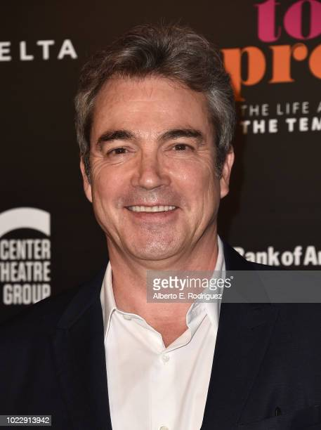 John Tenney attends the Opening Night of Ain't Too Proud The Life And Times Of The Temptations at the Ahmanson Theatre on August 24 2018 in Los...