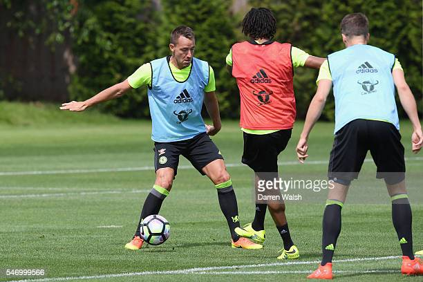 John Terry at Chelsea Training Ground on July 13 2016 in Cobham England