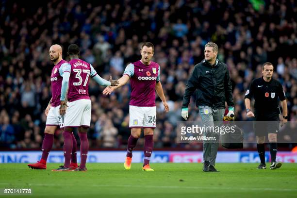 John Terry of Aston Villa during the Sky Bet Championship match between Aston Villa and Sheffield Wednesday at Villa Park on November 04 2017 in...