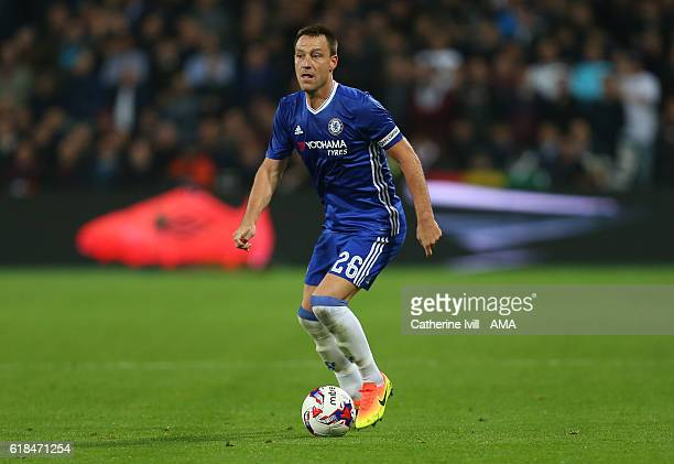 John Terry of Chelsea during the EFL Cup fourth round match between West Ham and Chelsea at The London Stadium on October 26 2016 in London England