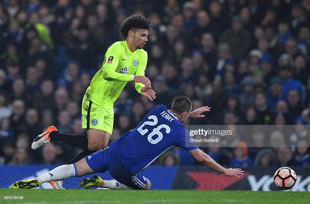 Chelsea v Peterborough United - The Emirates FA Cup Third Round : ニュース写真