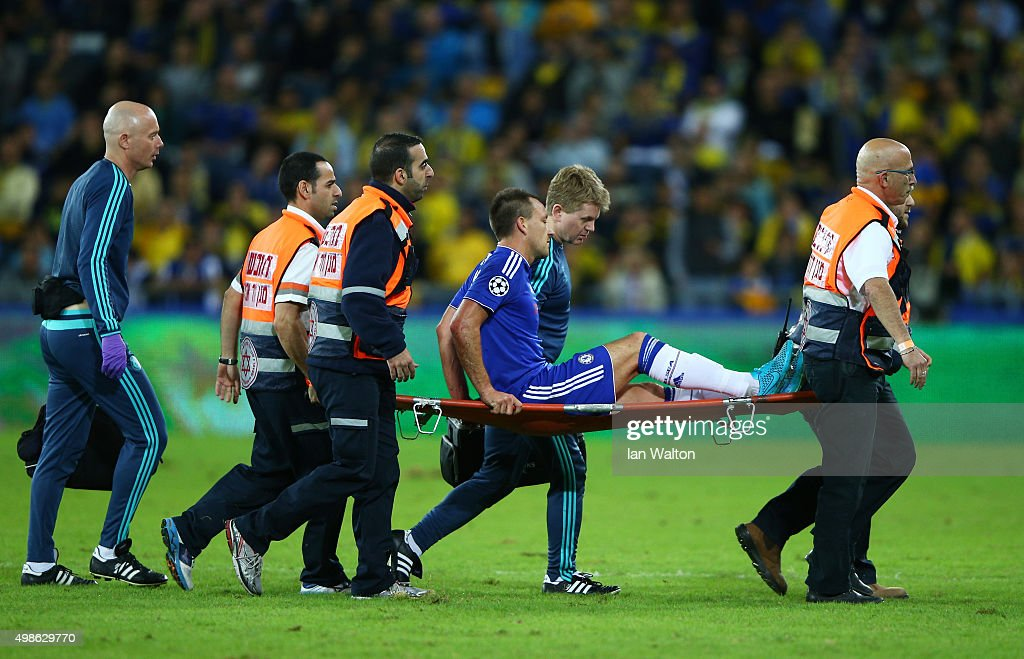 Maccabi Tel-Aviv FC v Chelsea FC - UEFA Champions League : News Photo