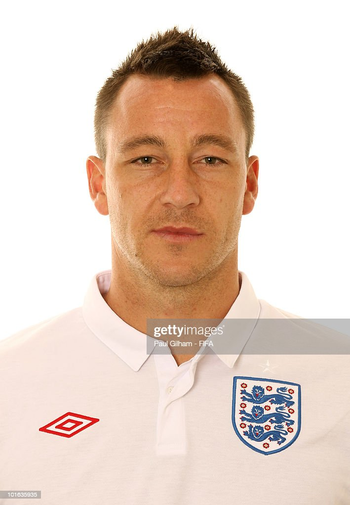 John Terry of England poses during the official FIFA World Cup 2010 portrait session on June 4, 2010 in Rustenburg, South Africa.