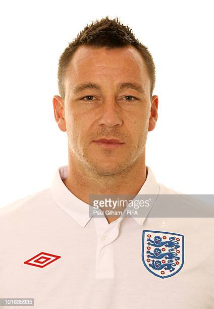 John Terry of England poses during the official FIFA World Cup 2010 portrait session on June 4 2010 in Rustenburg South Africa