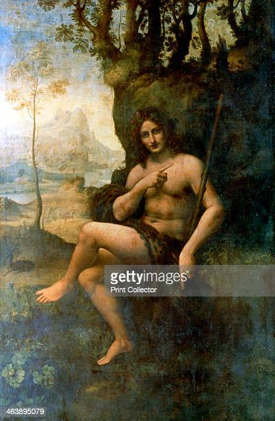 'John the Baptist with the attributes of Bacchus' 15131516 John the Baptist is regarded as a prophet by three religions Christianity Islam and...