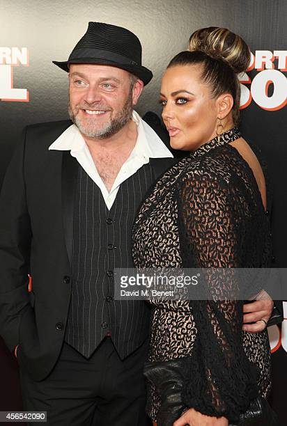 John Thomson and Samantha Sharp attend a Gala Screening of 'Northern Soul' at the Curzon Soho on October 2 2014 in London England