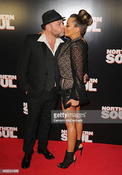 John Thomson and Wife attend the UK Gala screening of 'Northern Soul' at Curzon Soho on October 2 2014 in London England