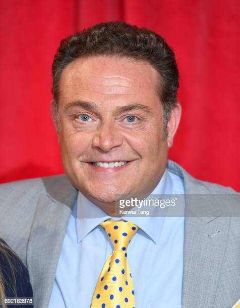 John Thomson attends the British Soap Awards at The Lowry Theatre on June 3 2017 in Manchester England