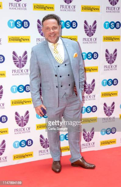John Thomson attends the Pride of Manchester Awards 2019 at Waterhouse Way on May 08 2019 in Manchester England