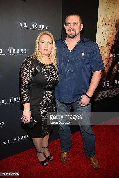 John Tiegen attends Miami Special Screening of 13 Hours The Secret Soldiers of Benghazi at Aventura Mall on January 7 2016 in Miami Florida