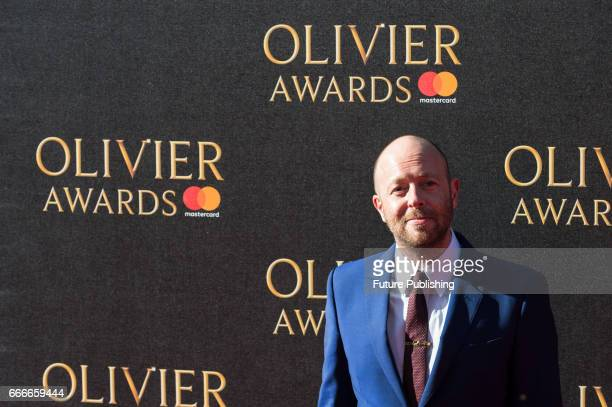 John Tiffany attends the 2017 Olivier Awards with Mastercard ceremony at the Royal Albert Hall on April 09 2017 in London England PHOTOGRAPH BY...