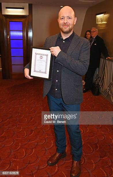 John Tiffany winner of the Best Director award for 'Harry Potter And The Cursed Child' attends The Critics' Circle Theatre Awards at The Prince of...