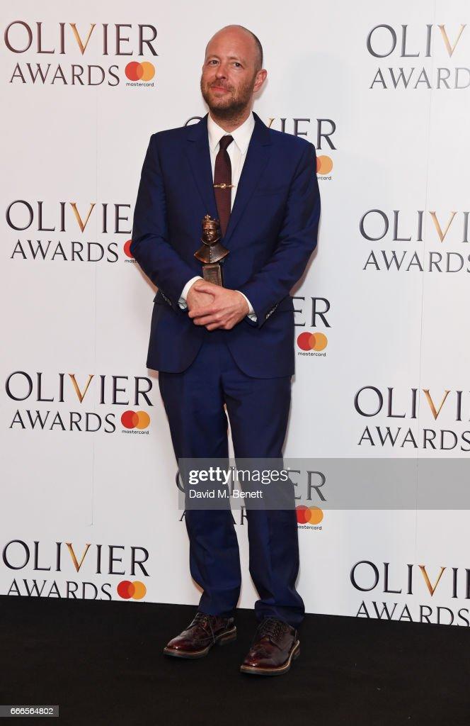 The Olivier Awards 2017 - Winners Room